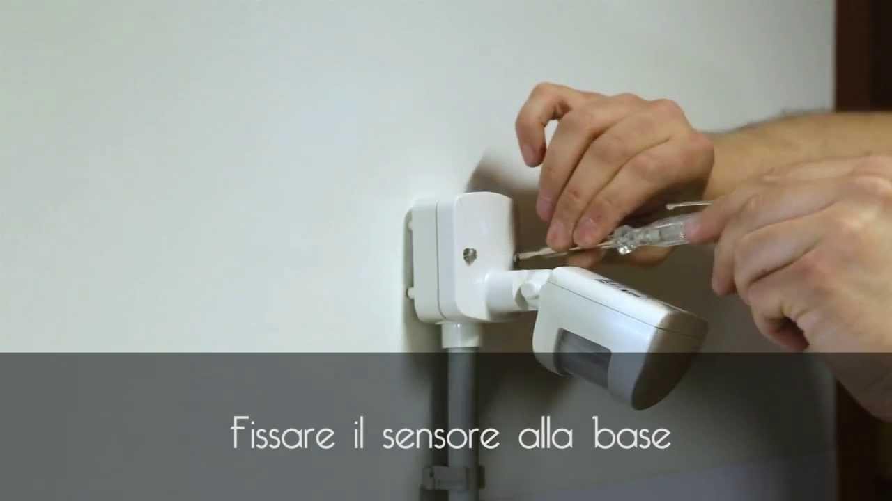 Schema Elettrico Rilevatore Di Presenza : Arteleta tutorial rilevatore di presenza youtube