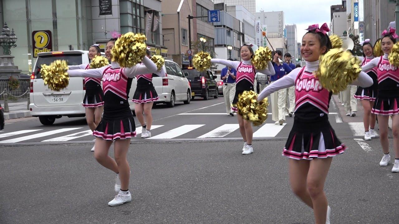 パレード バトン盗撮 第23回総文祭 パレード 飯田女子高校チアリーディングクラブ 他…