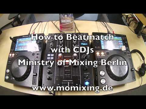 What DJs REALLY do - Beatmatching with CDJs
