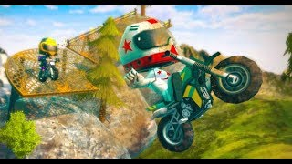 Moto Trial Racing 2: Two Player Full Gameplay Walkthrough