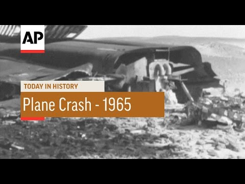 Egypt: Pakistan Plane Crashes Near Cairo Airport - 1965 | Today in History | 20 May 16