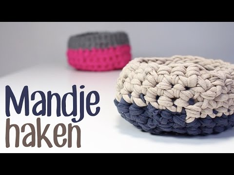 diy schale korb stricken und h keln mit zpagetti teil 1 funnycat tv. Black Bedroom Furniture Sets. Home Design Ideas