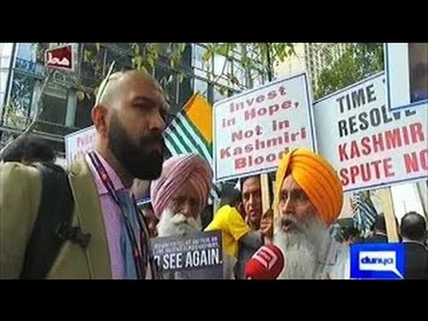 Mahaaz 2 0ctober 2016 - Sikh Khalistan Movement in US Bashing India