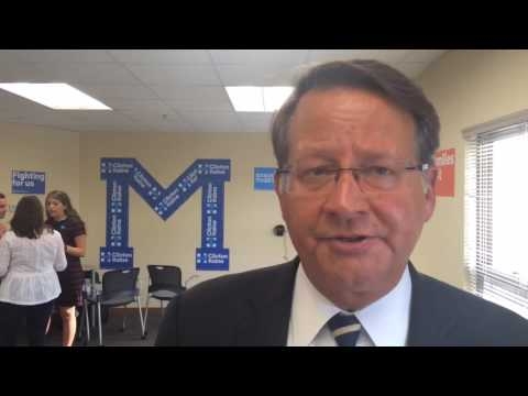 Gary Peters responds to Trump's latest remarks about Obama's birthplace