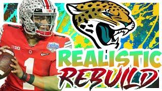 Justin Fields To The Jaguars! - Rebuilding The Jacksonville Jaguars - Madden 21 Realistic Rebuild