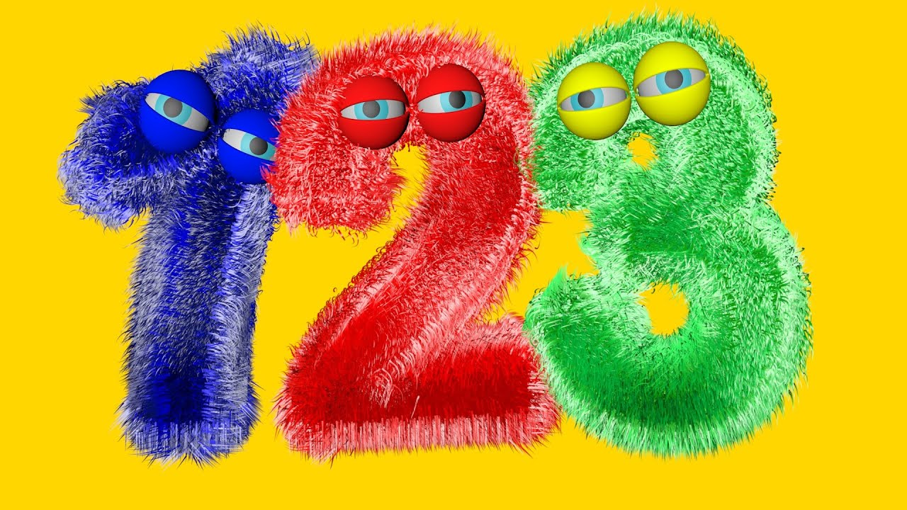 numbers song - 123 SONG - number for children