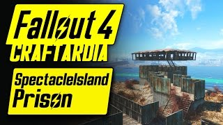 Fallout 4 Spectacle Island Prison - Base Building Timelapse - Fallout 4 Settlement Building [PC]