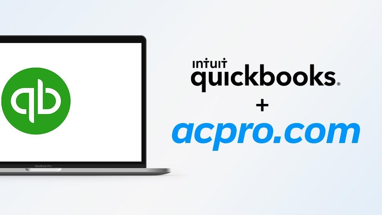 Quickbooks Integration - AC Pro