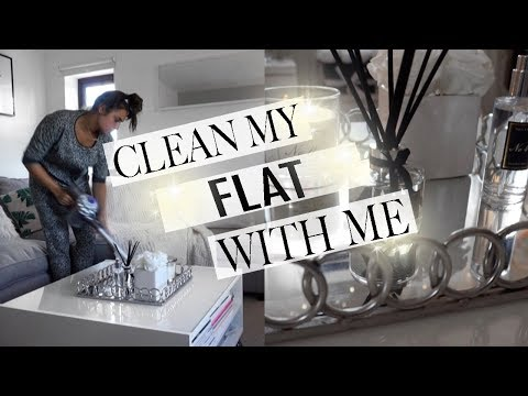 CLEAN MY FLAT WITH ME