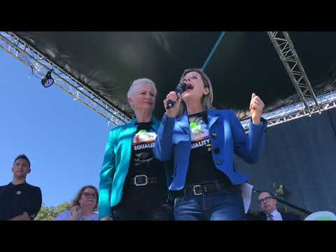 Kerryn Phelps and Jackie Stricker-Phelps on Marriage Equality
