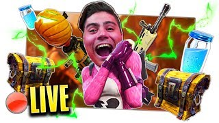 🔴 LIVE - FORTNITE NEW PARACHUTE SPACE SHUTTLE in SEARCH OF THE REAL VITTORY in TRIO !