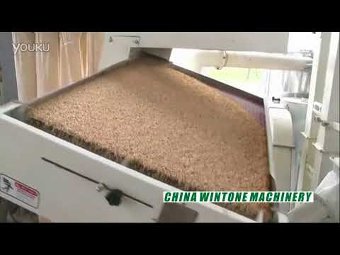 WT-15B Combined Rice Mill Machine, Paddy Husking And Rice Milling Line