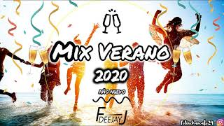 Mix Verano 2020 (FIN DE AÑO) x DeejayFJ (Tusa, Ritmo, Que Tire Pa' Lante, Efecto, Blanco y mas)