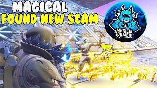 Magical Gamer Found NEW SCAM! 😱 (Scammer Gets Scammed) Fortnite Save The World