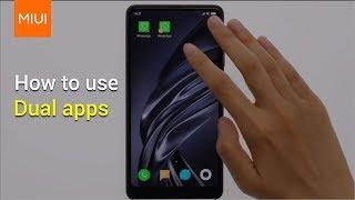 MIUI10: كيفية استخدام مزدوج تطبيقات