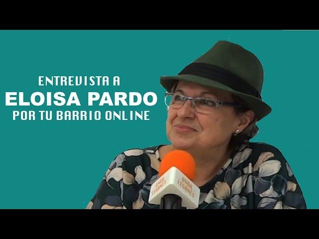 Entrevista a ELOISA PARDO