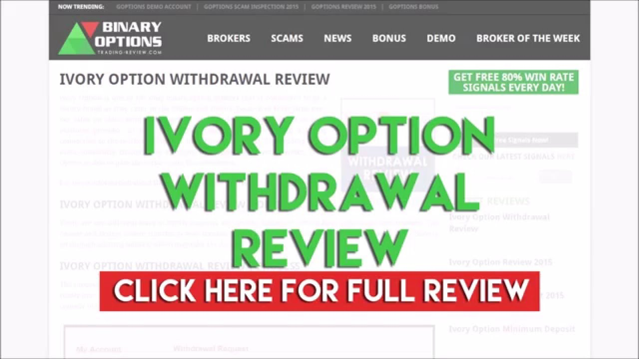 Ivory binary options