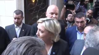 بالفيديو : الحجاب يتسبب في إلغاء زيارة المرشحة لرئاسة فرنسا لدار الفتوى اللبنانية