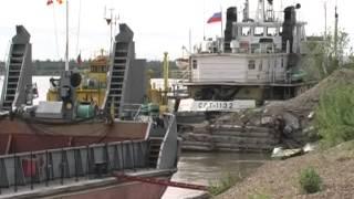 Реки Якутии мелеют(Из-за низких уровней неблагоприятная для судоходства обстановка наблюдается на Верхней Лене. Из Осетрово..., 2014-05-27T04:34:49.000Z)
