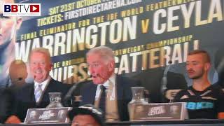 TYRONE NURSE - JACK CATTERALL - HEATED PRESS CONFERENCE