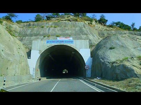 The tunnel roads in Jammu  - Great  Himalayan roads
