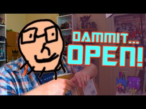 Dammit, Open: My Kinda Stupid! Transformers surprise toys unboxing!