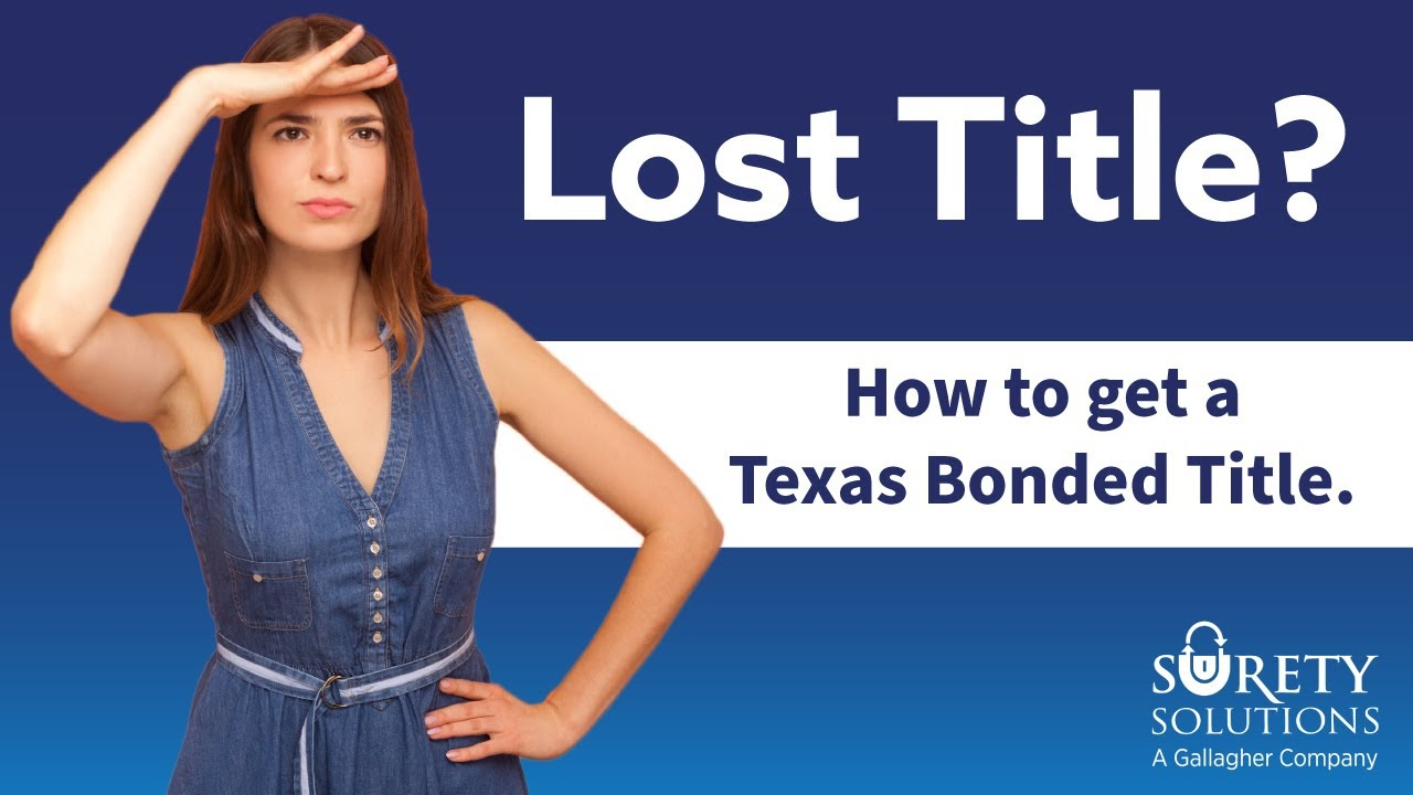 How To Get A Bonded Boat Title In Texas