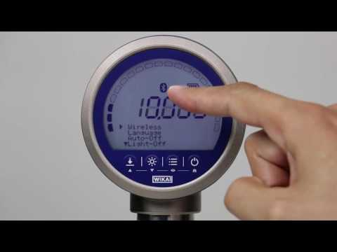 CPG1500 Precision Digital Pressure Gauge Demonstration | How To Set Up And Operate A CPG1500