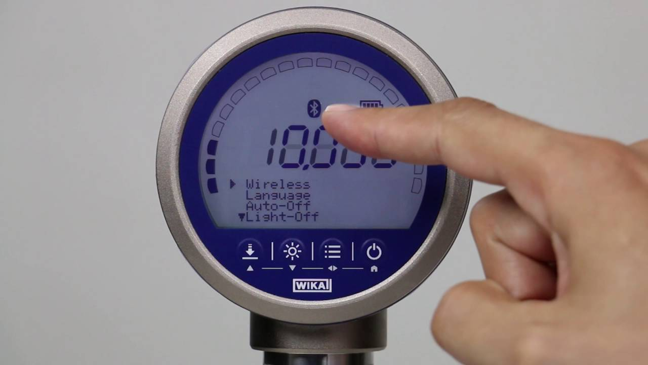 Cpg1500 Precision Digital Pressure Gauge Demonstration How To Set Up And Operate A Cpg1500 Youtube