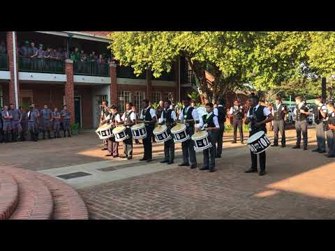 St John's College (Harare, Zimbabwe) Pipe-band Performance