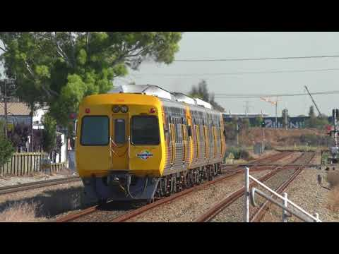Adelaide Metro Trains at Dry Creek, Dudley Park and Islington on the Gawler Line