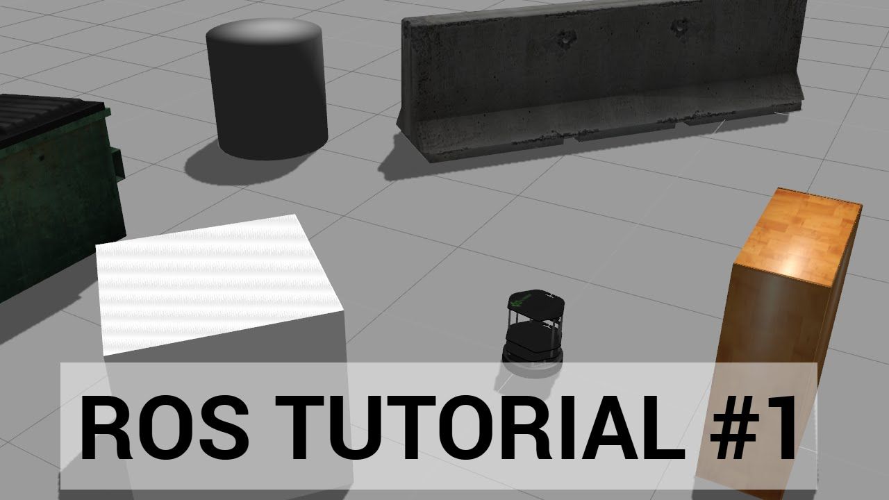 ROS tutorial #1: Introduction, Installing ROS, and running the Turtlebot  simulator