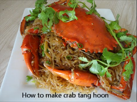 how to cook crab tang hoon with XO sauce