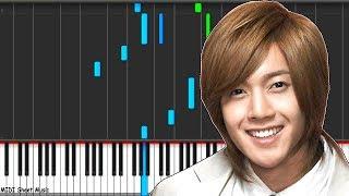 Boys Over Flowers - Ji Hoo Piano Midi