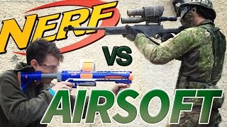 NERF vs. AIRSOFT by Novritsch