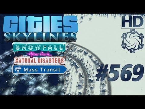 "Cities: Skylines Snowfall Let's Play #569 ""Import Export Verwirrung"" german deutsch HD PC"