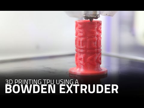 3d Fußboden Material ~ D print flexible materials with bowden tube axiom and d printer