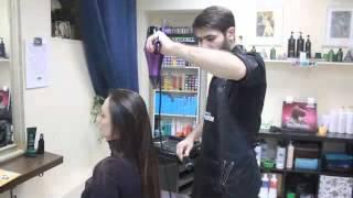 Окрашивание Шатуш на темных волосах в SPA салоне красоты