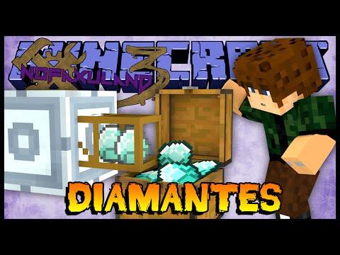 Super Fábrica de Diamantes Industriais - Nofaxuland 3 #103 (Minecraft + Mods 1.6.4)