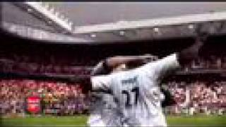 Fifa 08 Gameplay- Manchester United vs Arsenal