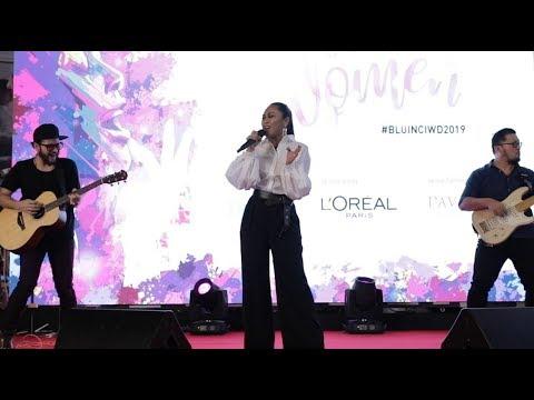 Sekitar Pelancaran Lagu 'Istimewa' Oleh Dayang Nurfaizah Sempena Hari Wanita Sedunia Oleh Blu Inc