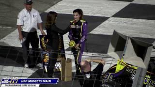 HPD MIDGET MAIN - FRIDAY: The Bullring at Las Vegas Motor Speedway FALL CLASSIC 2016