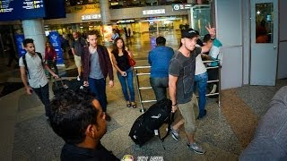 Met OneRepublic in KLIA @ Malaysia. Ryan and Eddie said Hi!