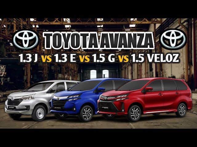 2020 Toyota Avanza Variants Comparison Philippines Youtube