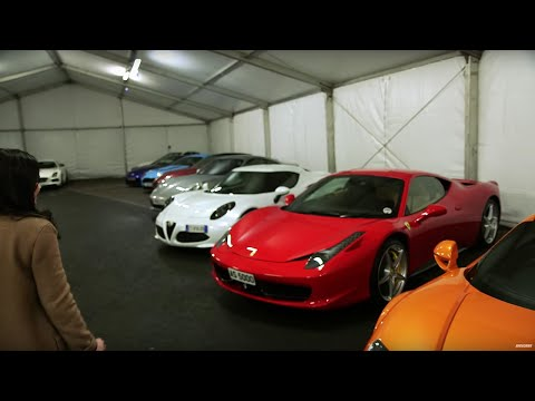 Exclusive Supercar Garage Tour with Amy Macdonald  - Top Gear Live 2014