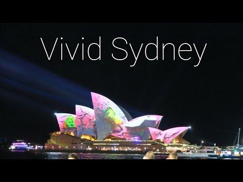 Vivid Sydney Light Show | Sydney Australia