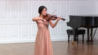 "| Dance Suite for Solo Violin ""Terpsichore"" (2018) 