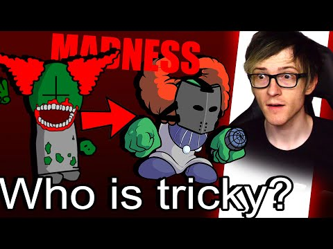 Who is Tricky the clown? Madness combat reaction