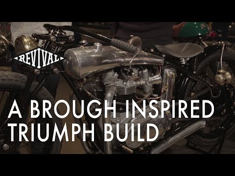 A Brough inspired Triumph Motorcycle - An interview with Motonerd Detroit from Detroit