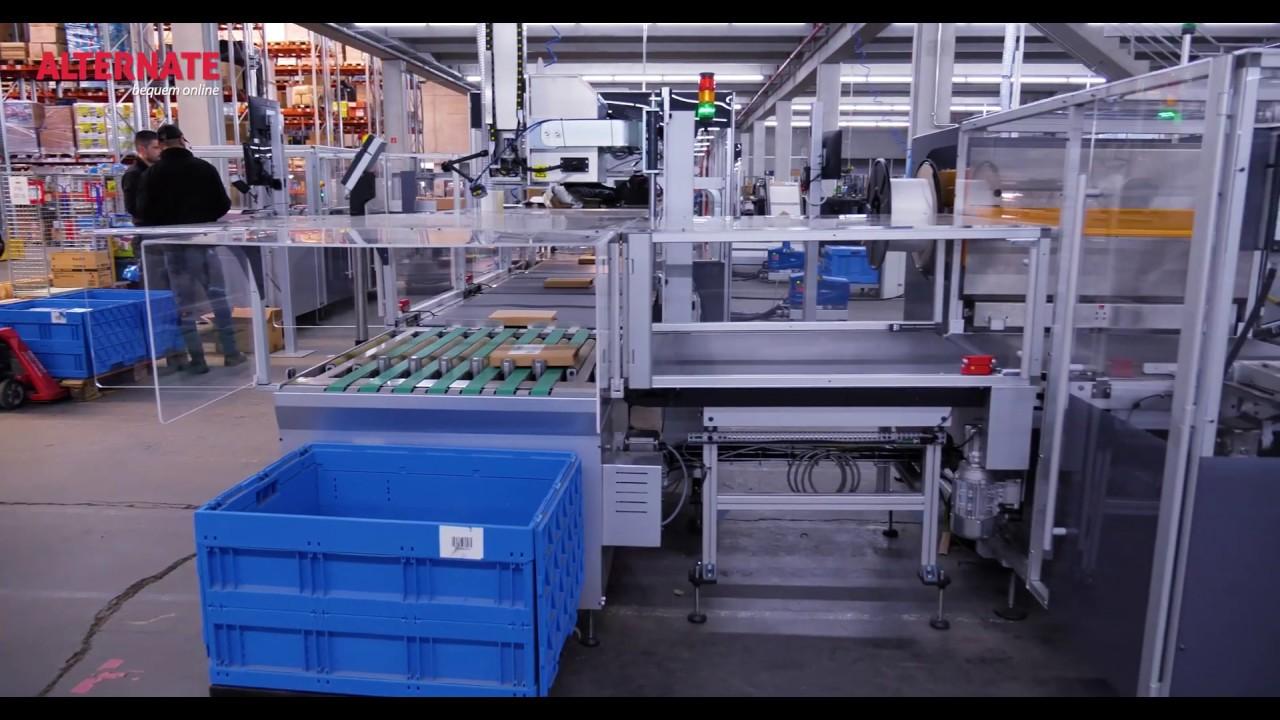 Produkte perfekt verpackt bei ALTERNATE - schnell, effizient & nachhaltig